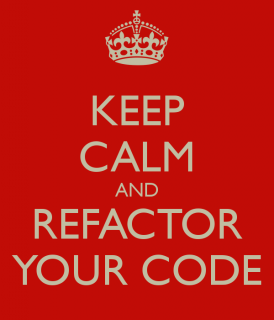 Revisit and Refactor